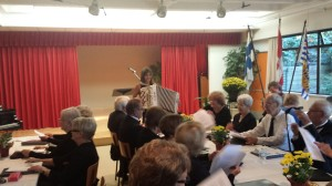 Terhi Accordion and Audience at the Manor