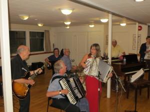 The band- Scandinavian Centre 'Iltamat'